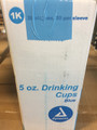 Plastic Rinse Cups - 5oz Blue - Case of 1000