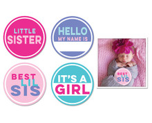 Little Sister Sticker Set