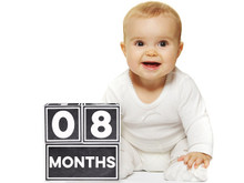 Sticky Bellies Milestone Brag Blocks for Babies