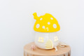 Little Belle Fairy Toadstool Light - Yellow with White Dots