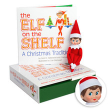 The Girl Elf on the Shelf
