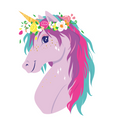 Apple and Mint Backpack - Unicorn