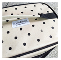 Apple and Mint Cooler Bags Polka Dot