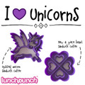 Lunch Punch Pairs - Unicorn