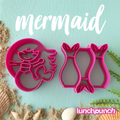 Lunch Punch Pairs - Mermaid