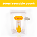 Sinchies Reusable Food Pouches - 200ml 5 pack