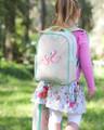 Apple and Mint Backpack - Aqua Flamingo