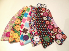 From Left to Right 1. Pretty In Pink 2. Summer Flower 3. Four Leaf Clover 4. Confetti 5. Brown Polka Dot 6. Pushing Up Daisys