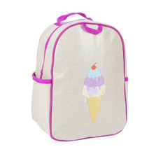 Apple and Mint Backpack - Purple Icecream