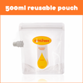 Sinchies Reusable Food Pouches - 500ml 5 Pack