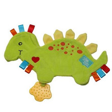 Spike the Dinosaur LIttle Num Nums Taggie Comforters