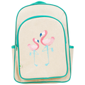 Apple and Mint Big Kid Backpack - Flamingo
