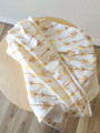 Buster Boo Organic Wrap / Light Blanket - Gold Arrow