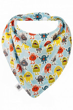 Bibska Bibs Bandana Dribble Bib - Monster Mash