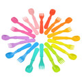 Re-Play Recycled Plastic Infant Tableware - Utensils 8 Pack