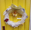 Fairy Door Christmas Wreath