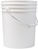 5 Gallon White Bucket