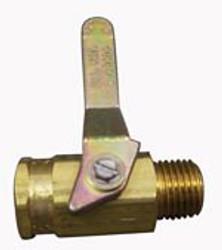 Ball Valve 1/4f-m Brass Hydramaster Solution Hose