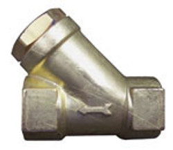 1/4 Fpt Brass Y-strainer