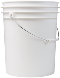 5 Gallon White Bucket
