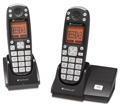 clearsounds lified phone with answering machine