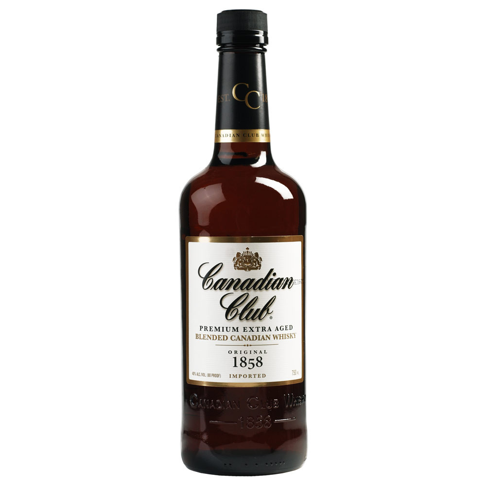 Canadian Club Premium Extra Aged Blended Canadian Whiskey