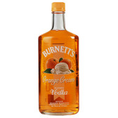Burnetts Flavored Vodka Orange Cream 750ml
