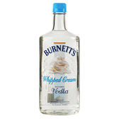 Burnetts Flavored Vodka Whipped Cream 750ml