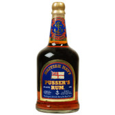 Pussers Rum British Navy Blue Label 84 Proof 750ml