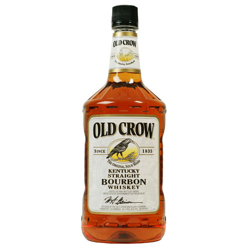 Old Crow Kentucky Straight Bourbon Whiskey 1 75l Crown