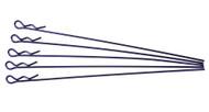 extra long body clip 1 10 - metallic blue (5)