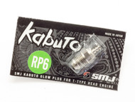 Kabuto Glow Plug RP6 for T12 Engine