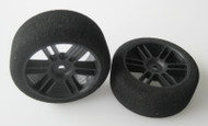 Sedan Rear 37 Shore Tyres - Carbon Xceed Wheel