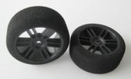 Sedan Rear 42 Shore Tyres - Carbon Xceed Wheel
