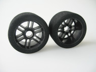 1/8 Front 32 Shore Tyres - Carbon Xceed Wheel