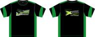 Xceed T-Shirt  DRY-FIT Black-Green  (XXXL)