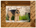 Airedale Customize your frame:Do you prefer Airedale or Airedale Terrier on your frame?  Just indicate in the blank your preference.