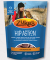 Zuke's Hip Action Dog Treats Zuke's is a company devoted to making healthy, affordable treats and chews using top-quality ingredients and formulas that reflect the latest scientific developments in animal wellness and nutrition.