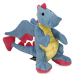 Blue Dragon, Periwinkle blue-available in 2 sizes- Small has squeaker, Lg is a grunter!