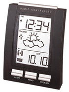 La Crosse WT293 Weather Forecast Memo Alarm Clock