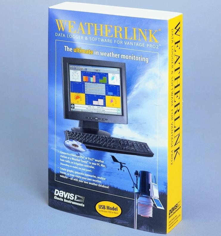 davis 6510usb weatherlink usb for vantage pro pro2 and vue. Black Bedroom Furniture Sets. Home Design Ideas