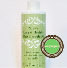 Also, NJoy's Long & Healthy Hair Growth Oil - (Sulfur-free formula)