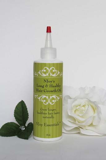 NJoy's Long & Healthy Hair Growth Oil - (Regular formula)