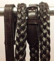 Reins, Braided/Plaited 5-Strand McConnell's Elite