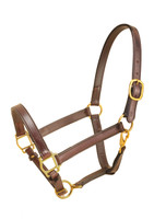 "Halter, Leather Cob/Sm Horse 1"" (Tory 183)"