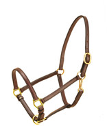 "Halter, Leather Horse 3/4"" Adjustable (Tory 184)"