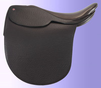 Lovatt & Ricketts Louisville Ultra Flat Seat Buffalo Saddle Profile