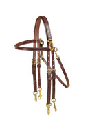 Bridle, Double Leather Training Arabian (Tory)