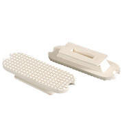 Stirrup Pads, Replacement White for Fillis Irons