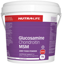 Nutra Life Glucosamine Chondroitin MSM 2KG Value Pack